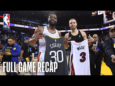Video: HEAT vs WARRIORS | Thrilling Finish In Oracle! | February 10, 2019