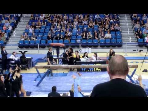 Perfect 10 Beam Routine With Amazing Dismount