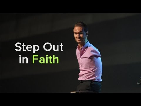 Faith - Step Out in Faith by Nick Vujicic Morning Service May 19, 2013 CCF Center Downloads: http://ccf.org.ph/step-faith.