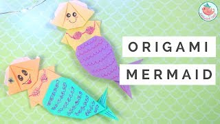 Learn to make an origami / kirigami mermaid with this easy origami tutorial. This origami mermaid requires 3 sheets of paper and a pair of scissors to snip the tail. You'll also need some glue or tape to secure the paper mermaid pieces together. The origami mermaid can be decorated with markers, glitter, sequins, and other embellishments. For my origami mermaid, I drew on scales for the paper mermaid tail, a flower in my mermaid's hair, and two shells for the mermaid's chest. These origami mermaids are cute, fun, and perfect for origami beginners.  Origami Mermaid design by Jenny W. Chan, Origami Tree, Copyright® 2017. DO NOT REPLICATE TUTORIAL.Also check out the paper Mermaid Bookmark by Red Ted Art: LINK TBASELECT MATERIALS/ADS:Stabilo Pens: http://amzn.to/2u0hB1t Glue Dots Mini Dots Dispenser: http://amzn.to/2tD9BRDOrigami Paper: http://amzn.to/2u6qUxB ------ABOUT: Hello my crafty friends! I'm Jenny, from NYC, and I LOVE to craft. I've created hundreds of paper craft and origami tutorials, do-it-yourself (DIY) crafting tutorials, and general craft tutorials, so be sure to subscribe and check back frequently. :-)INSTAGRAM: https://Instagram.com/OrigamiTree/FACEBOOK: https://www.Facebook.com/OrigamiTreeSNAPCHAT: https://www.snapchat.com/add/OrigamiTreeTWITTER: https://Twitter.com/OrigamiTreePINTEREST: http://www.Pinterest.com/OrigamiTreeWEBSITE: http://www.OrigamiTree.comShare your crafts in the Fan Gallery (bit.ly/OTFanGallery), or on social media with #OrigamiTree. You may also visit OrigamiTree.com, for free craft tutorials, demos, printable origami paper, and more!Business Inquiries: JennyOrigamiTree@gmail.com