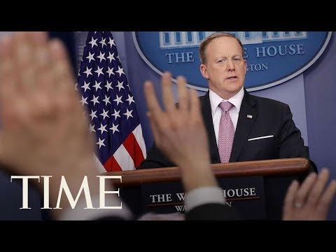 Press Secretary Sean Spicer Resigns After Anthony Scaramucci Named Communications Director | TIME