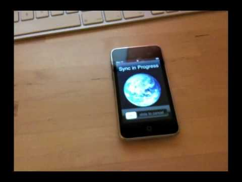 WiFiSync, Wirelessly sync your iPhone with iTunes