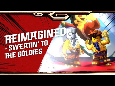 NINJAGO LEGACY shorts - Reimagined - Sweatin' to the Goldies