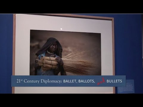 Floyd curates 'Ballet, Ballots and Bullets'