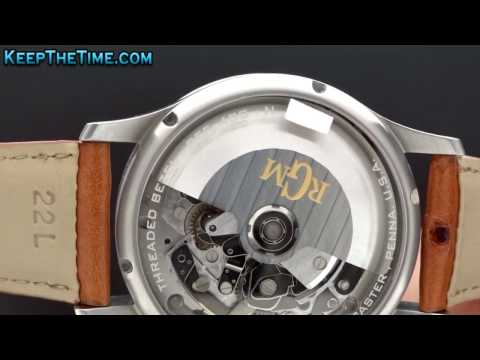 keepthetime - Buy this watch at http://www.keepthetime.com/index.php?main_page=product_info&cPath=2&products_id=606 Full video review coming soon! RGM Watch Company, Rolan...
