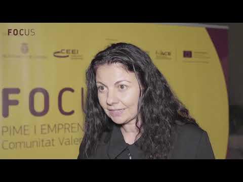 Erika Silva en Focus Pyme y Emprendimiento Comunitat Valenciana 2018