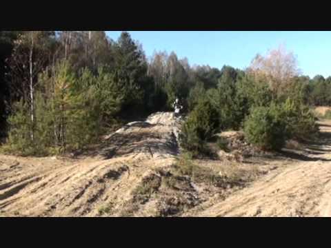 Motocross MX tor Wólka na CRF - pierwsze kroki