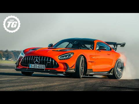 720bhp AMG GT Black Series: is this Stig's most sideways lap ever?! | Top Gear