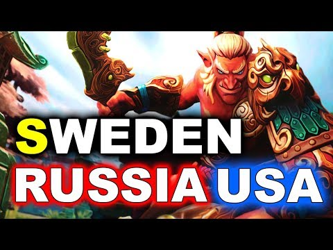 Download Team SWEDEN vs RUSSIA + USA - WESG 2018 DOTA 2 HD Mp4 3GP Video and MP3