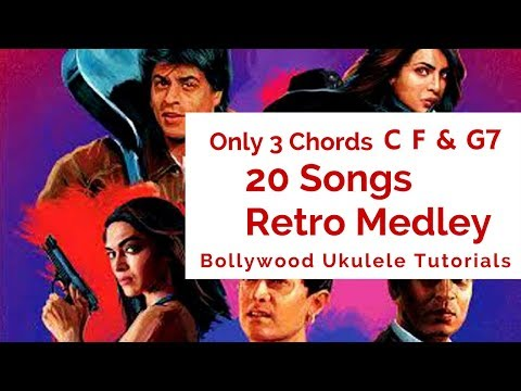Video ONLY 3 CHORDS | 20 SONGS | Retro Medley | Easy Ukulele Tutorial download in MP3, 3GP, MP4, WEBM, AVI, FLV January 2017