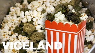 A Recipe for Weed-Infused Popcorn by Munchies