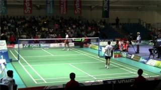 Australian Badminton Open 2012 Semi Finals - Mens Singles Game 1 Second Half
