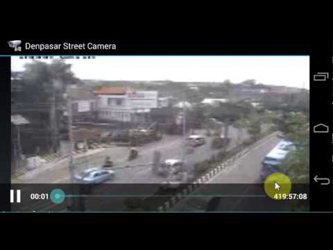 Video of Denpasar Street Camera