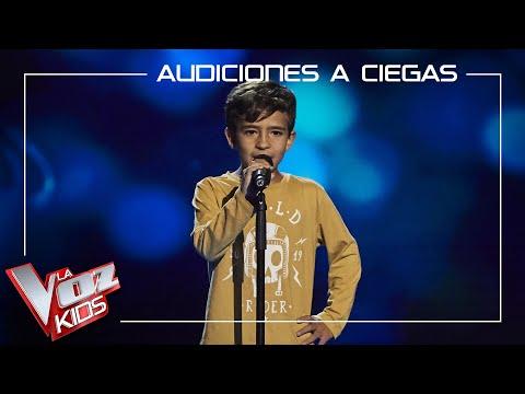 Carlos Prieto canta 'No me lo creo' | Audiciones a ciegas | La Voz Kids Antena 3 2021