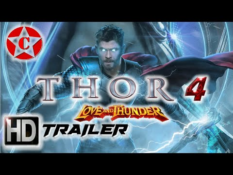 Thor 4 Love and Thunder - Official Movie Trailer - 2021