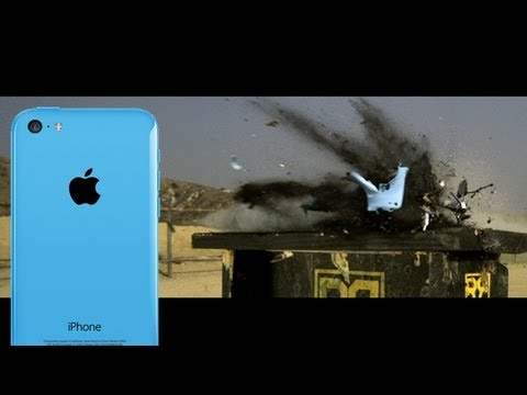 Watch the iPhone 5C Get Obliterated By a 50 Caliber