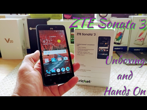ZTE Sonata 3 Unboxing and Hands on. Is this device worth getting?