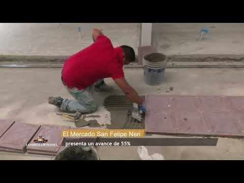La renovación del Mercado San Felipe Neri lleva 55 % de avance
