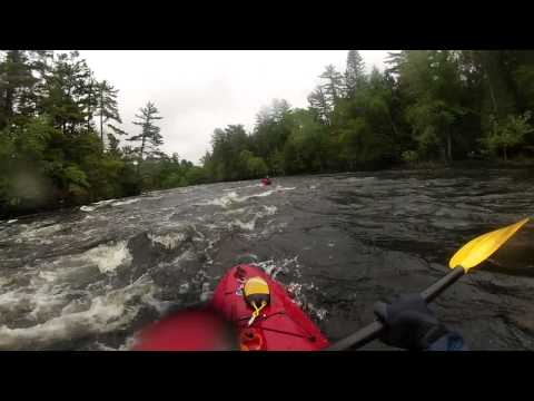 Madawaska River 2013 White Water Kayaking – Upper and Lower Palmer Rapids