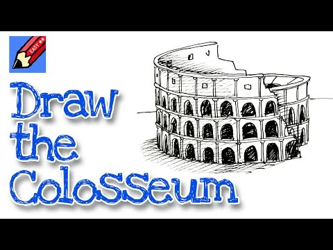 How to draw the Coliseum Shoo Rayner Author