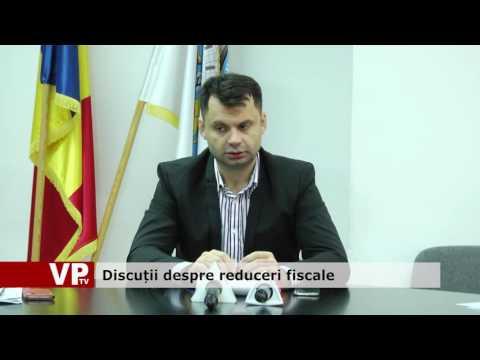 Discuții despre reduceri fiscale