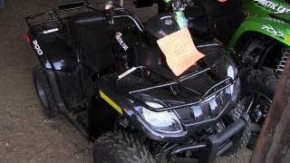 9. 2013 Arctic Cat 300 ATV Wheeler