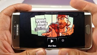 This is the performance of GTA San Andreas game on Samsung Galaxy S6 Edge. Check out the video to find out that how the GTA San Andreas looks and runs on Sam...