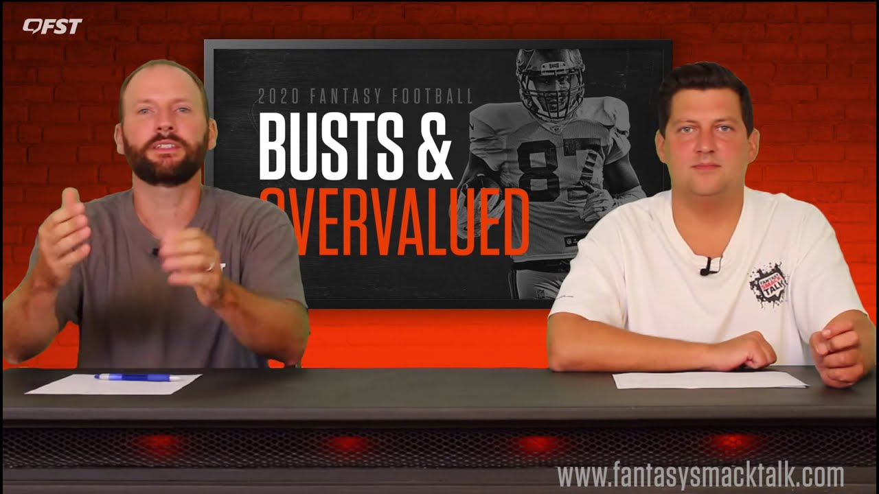 2020 Fantasy Football Busts / Overvalued Players thumbnail