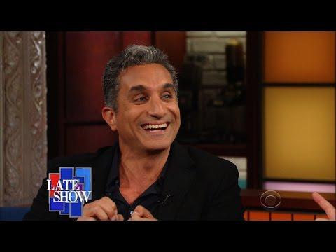 شاهد- باسم يوسف فيCBS الأمريكية: دونالد ترامب مفيد لأمثالي