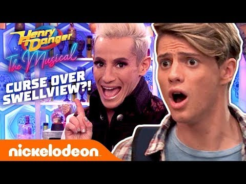 Henry Danger: The Musical | Exclusive Sneak Peek 😱 There's a Curse Over Swellview! | Nick