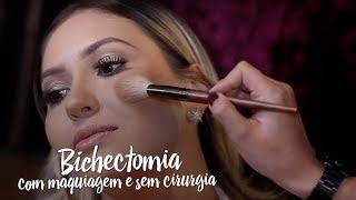 Bichectomia com maquiagem e sem cirurgia