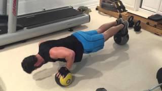 VIDEO: Med Ball Push-Up Variation