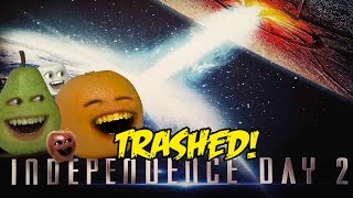 Annoying Orange   Independence Day 2  Resurgence Trailer Trashed
