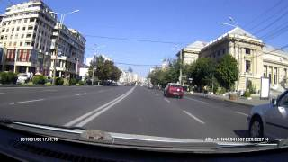 Ploiesti Romania  City new picture : Driving in Ploiesti, Romania - aug. 2014