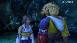 Final Fantasy X HD Walkthrough 34: Underwater Date Love Scene, Calm Lands [1/5]