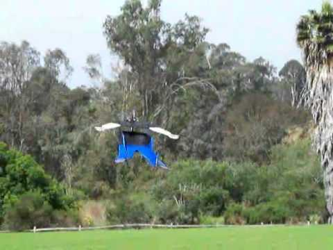 RC Supergirl Claire flown by Otto Dieffenbach at the Rancho Santa Fe soccer field