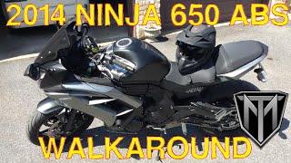 9. My Bike: A Walkaround with Mods (2014 Ninja 650 ABS)
