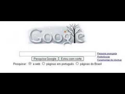 como o google muda em datas comemorativas