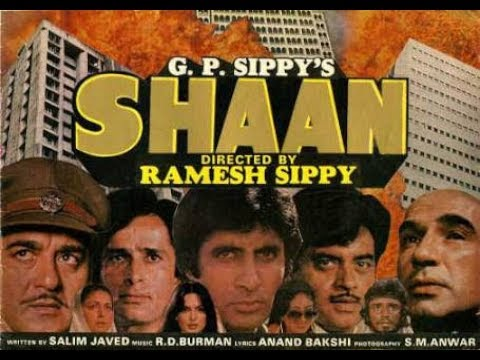 Shaan - Hindi Full Movie (1980 ) Amitabh Bachchan, Shashi Kapoor, Parveen Babi