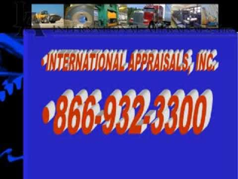 Machinery & Equipment Appraisals | International Appraisals, Inc.