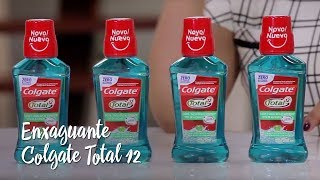 Enxaguante Colgate Total 12