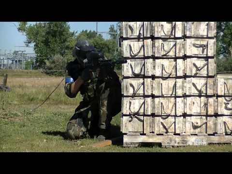 **RED DAWN 2013 Scenario Paintball Game** American Paintball Coliseum