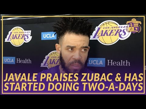 Video: Lakers Interview: JaVale McGee Praises Zubac for Stepping In and Says He Is Close to Returning