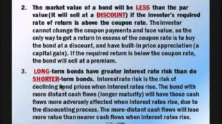 Financial Management: Lecture 7, Chapter 7: Part 2 - Interest Rates And Bond Valuation (Cont.)