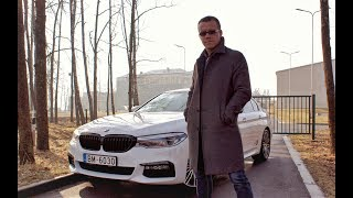 """AutoMedia.lv"" tests: sedans BMW 530d xDrive"