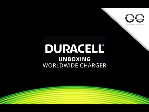 Duracell Worldwide Charger Unboxing - Duracell Latest Range - Genuine Solutions