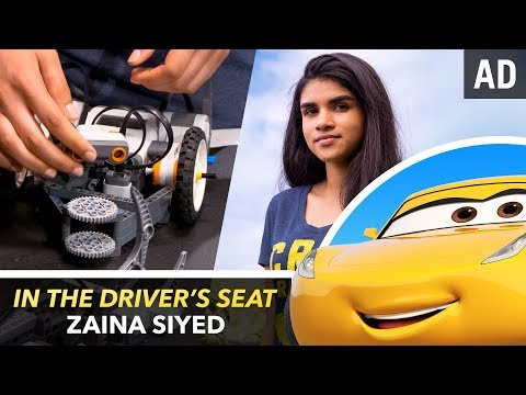 In The Driver's Seat with Zaina Siyed | Pixar
