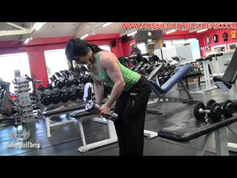 """Ellena Tsatsos """"In The Dungeon"""" Training Delts (Part 2 of 2)"""