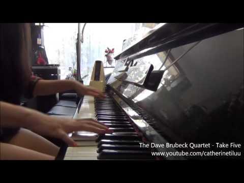 Video The Dave Brubeck Quartet - Take Five (Piano cover) download in MP3, 3GP, MP4, WEBM, AVI, FLV January 2017
