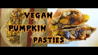 HOW TO MAKE VEGAN PUMPKIN PASTIES